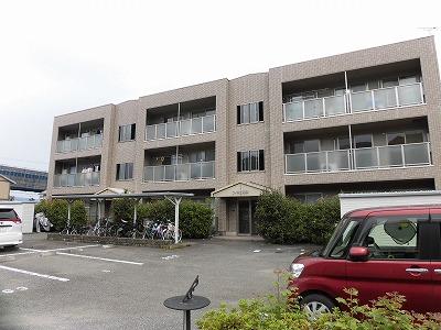 高知市高須新町2LDK、アパートすぐ東隣りに高須南ノ丸公園あります(#^^#)