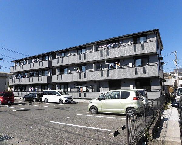 高知市海老ノ丸2LDK☆3階建ての2階★