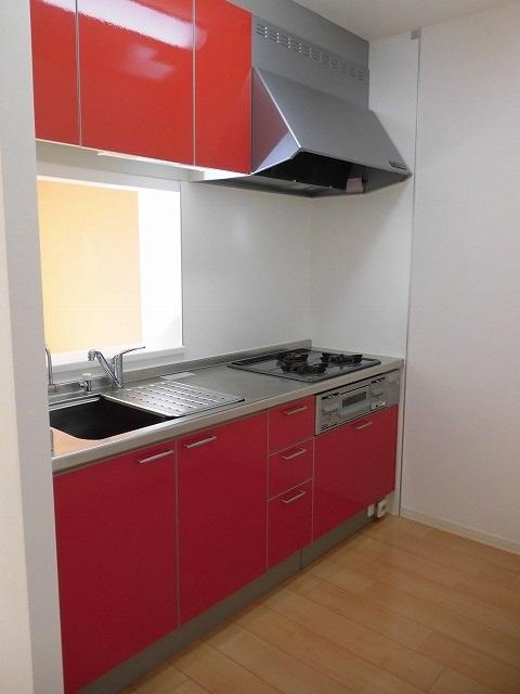 システムキッチン(色は異なる場合あります)