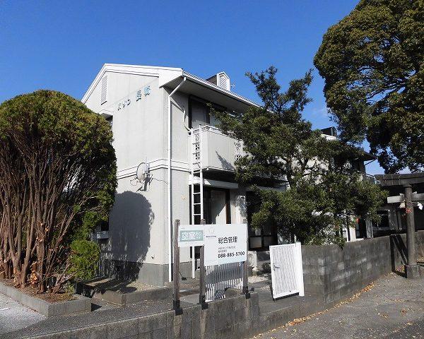 高知市介良の3DKのお部屋☆王子神社のすぐ裏のアパートです☆