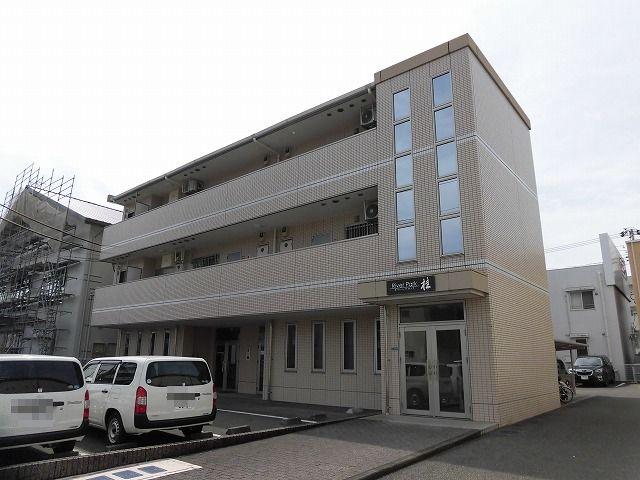 高知市北川添3階建て3階2DKの角部屋♪