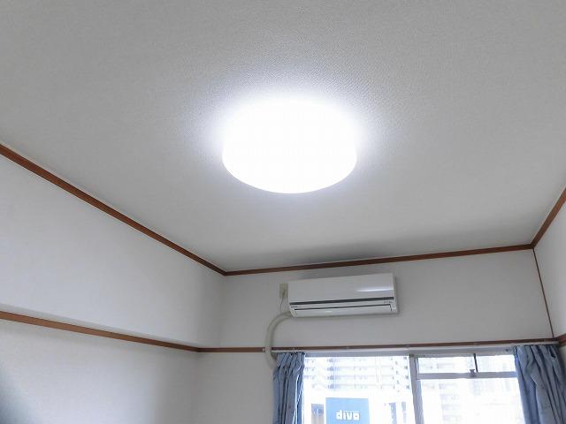 エアコン・照明付き