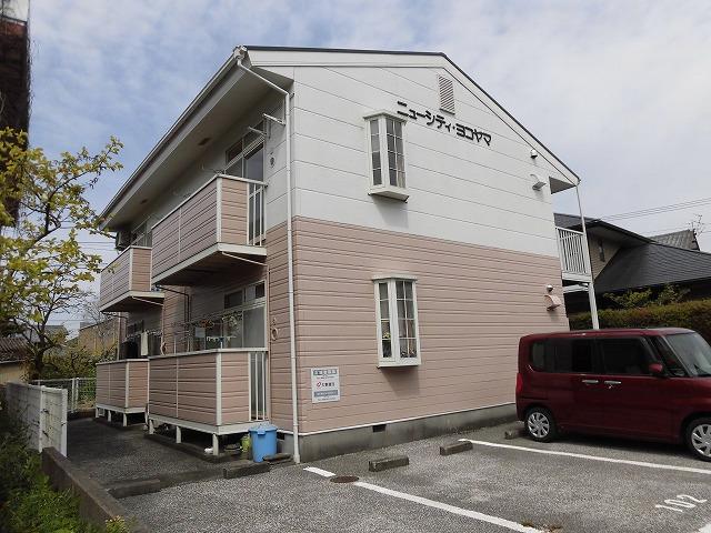 高知市介良乙の2階建て2階2DKのお部屋♪
