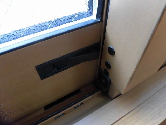 窓の防犯ロックも嬉しいポイント