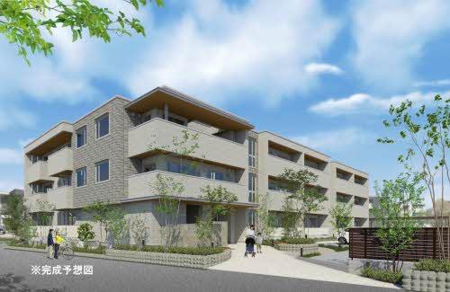 2021年1月完成予定☆高知市北久保の3階建てマンションの2階206号室☆中部屋