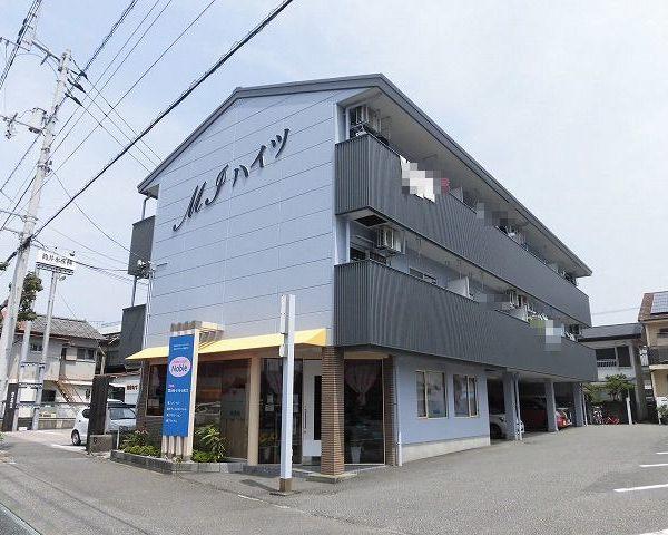 高知市稲荷町の3階建て2階2DKの角部屋♪