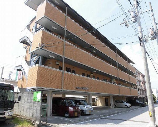 高知市南御座4階建て2階の1DK♪