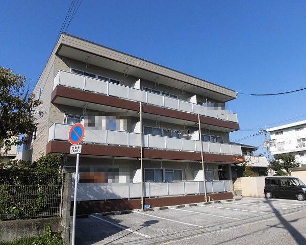 高知市葛島3階建て2階角部屋の3DK♪