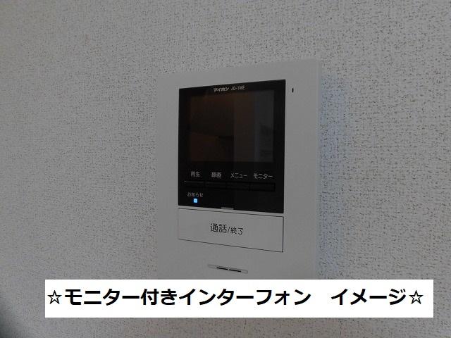 モニター付きインターフォン(イメージ写真)