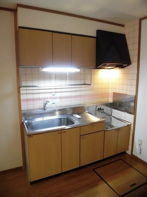 壁付けタイプのキッチン