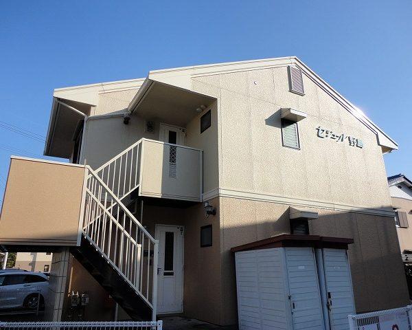 高知市大津乙の路面電車沿いのアパート2階角部屋3DKのお部屋♪