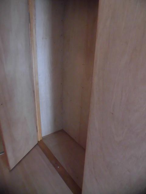 玄関横にある収納スペース
