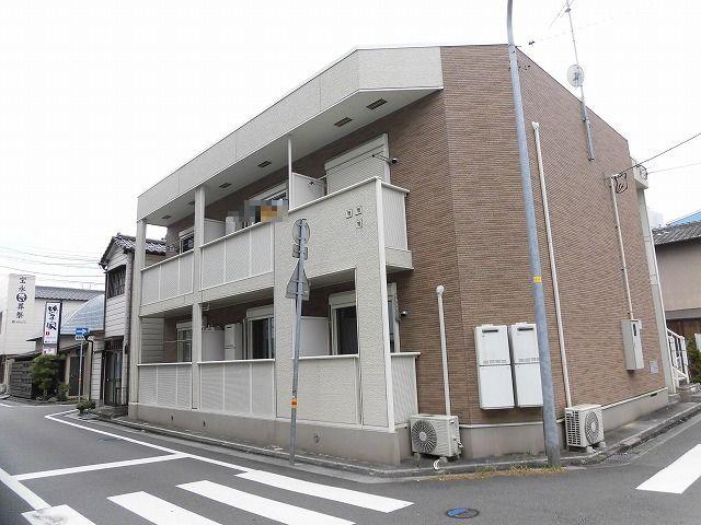高知市南宝永町2階建て1階の単身向けアパート♪