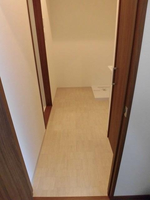 洗面脱衣所(玄関)