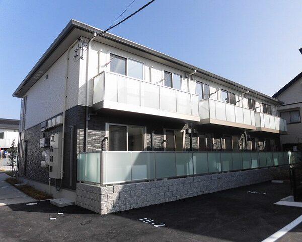 高知市介良乙2階建て1階角部屋☆ブリコ介良店近くの築浅アパート